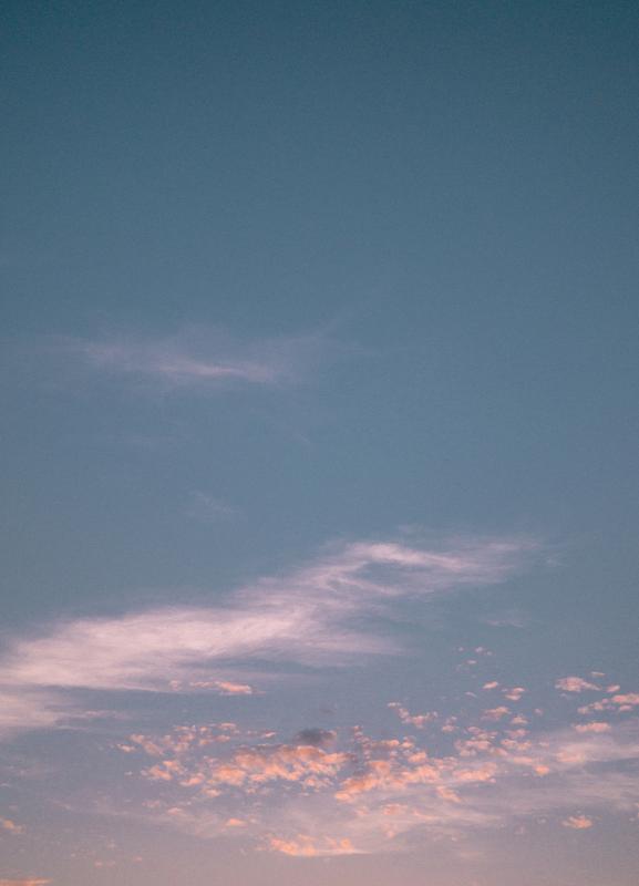 Dreamy Skies III canvas doek