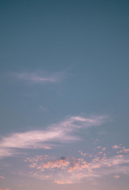 Dreamy Skies III Impression sur alu-Dibond