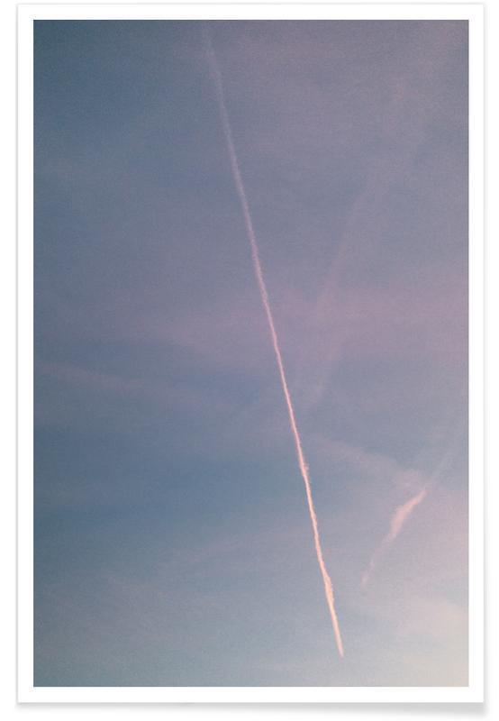 Lucht en wolken, Dreamy Skies IV poster
