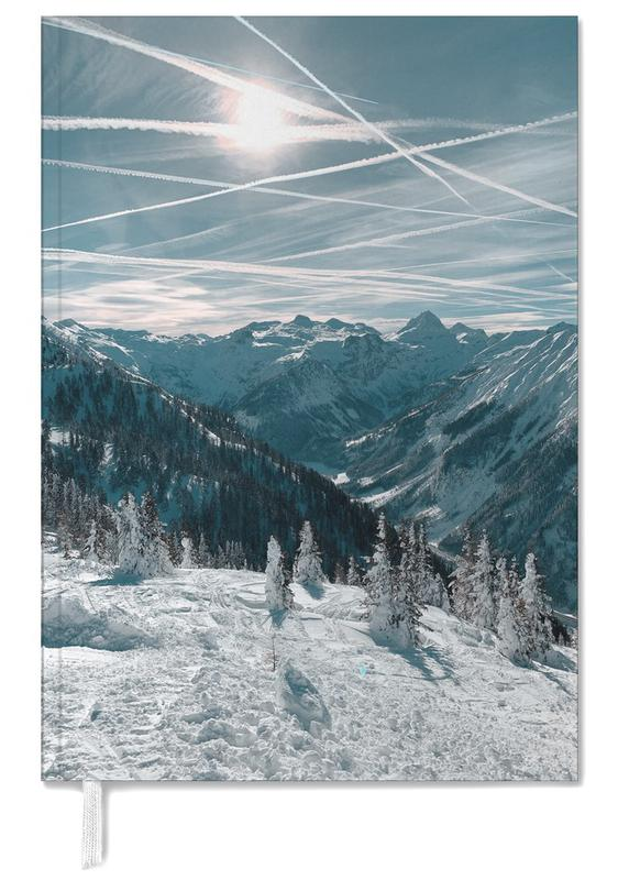 Austrian Alps in Winter Personal Planner