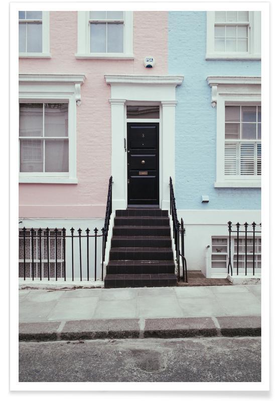 Architectonische details, Londen, London Vibes poster