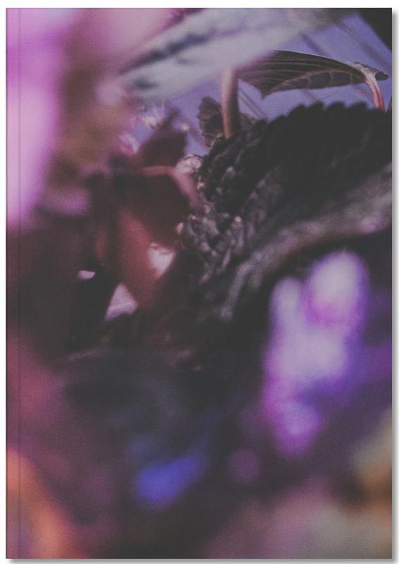 Faded Floral Purple 2 Notebook