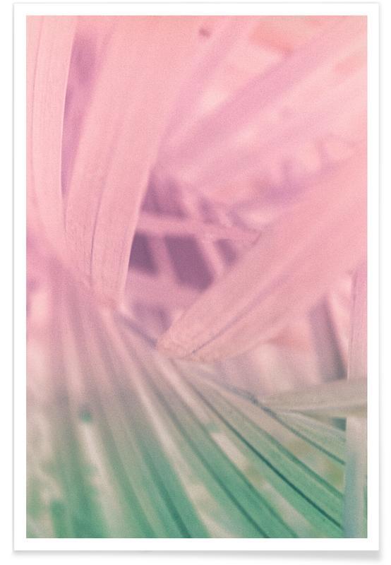 Blätter & Pflanzen, Palm Pastel -Poster