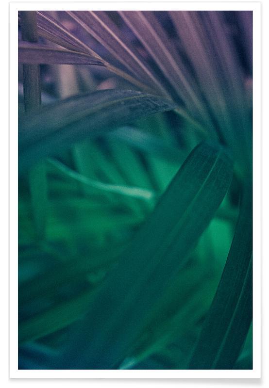 Palm Purple -Poster
