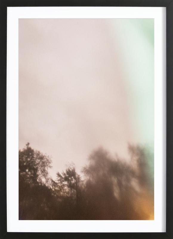 Outside My Window -Bild mit Holzrahmen