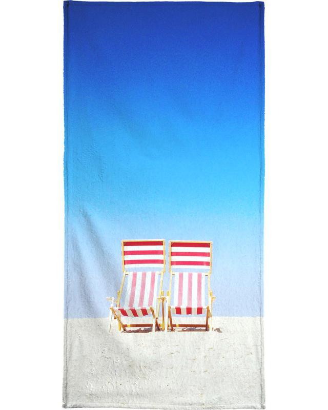 Beach Chairs -Strandtuch