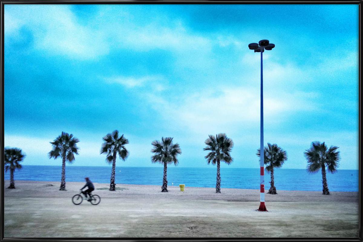 Costa Brava Beach Framed Poster