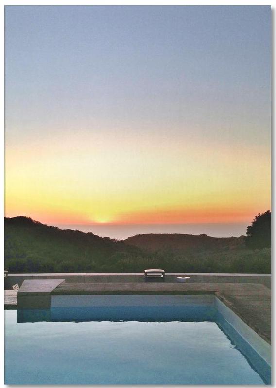 Sonnenuntergänge, Reise, La Pool -Notizblock