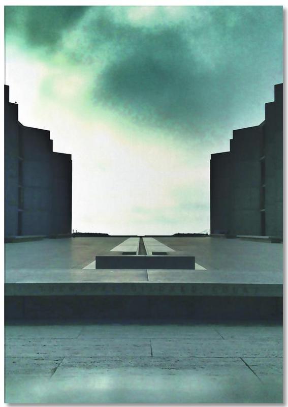 Détails architecturaux, The Salk bloc-notes