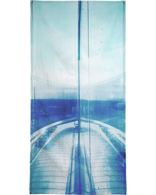 Reflection Blue -Handtuch