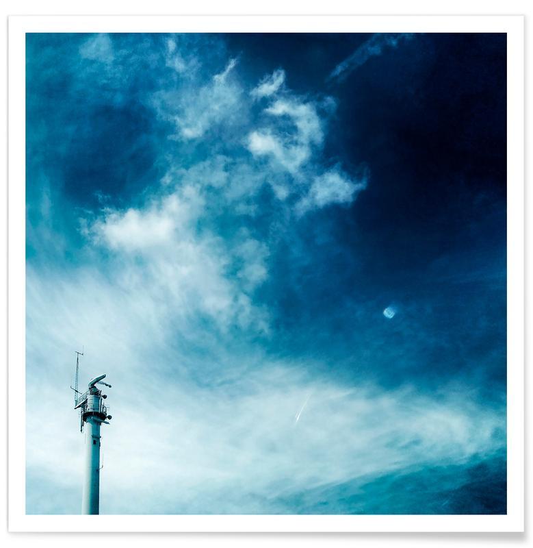 Architekturdetails, Himmel & Wolken, Weather Station -Poster