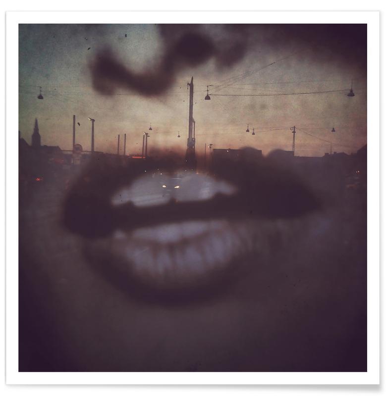 Portraits, Copenhagen, Reflex Lips Poster