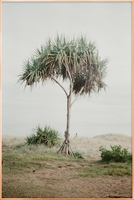 Australia -Poster im Alurahmen