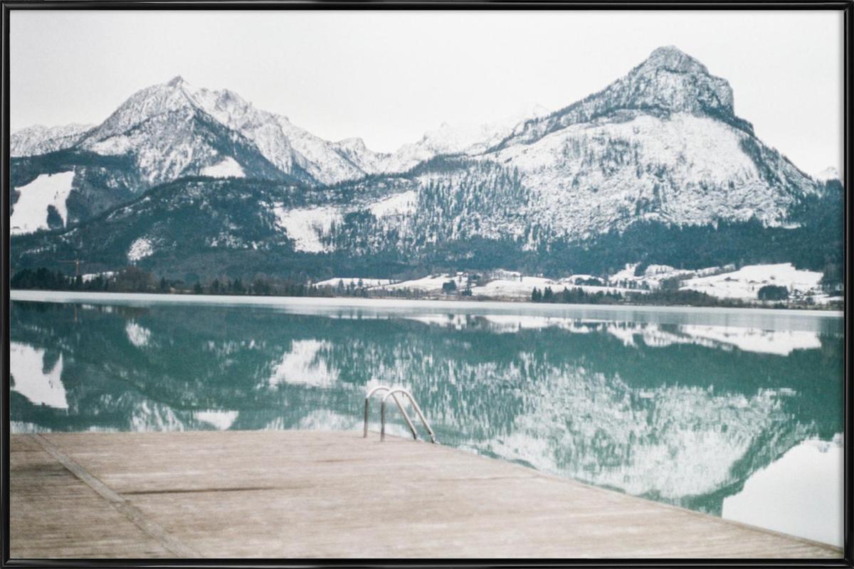 Austria ingelijste poster