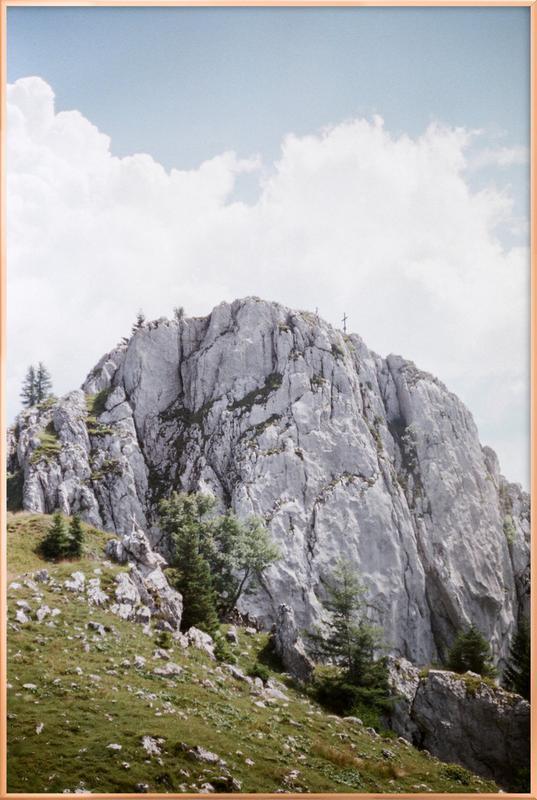 Serenity Poster in Aluminium Frame
