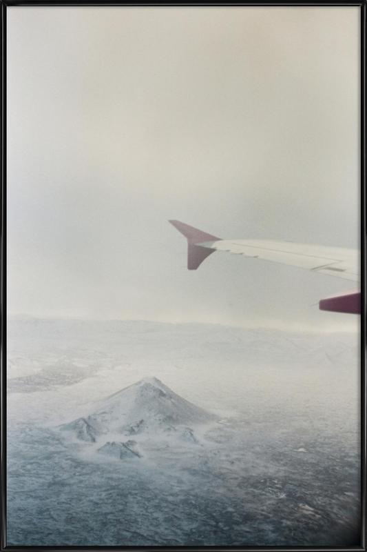 Iceland ingelijste poster