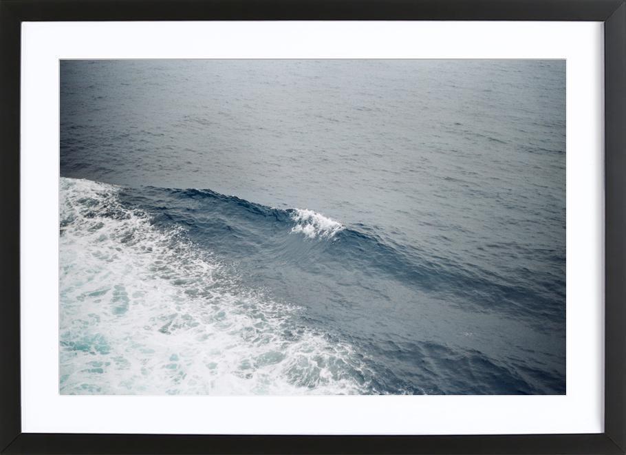 Natural Blues Framed Print