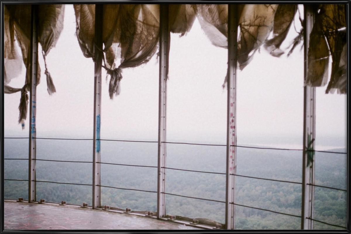 Lost Places II -Bild mit Kunststoffrahmen