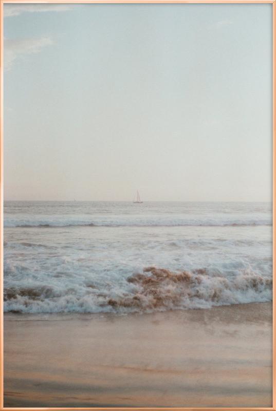 Ocean Breeze -Poster im Alurahmen