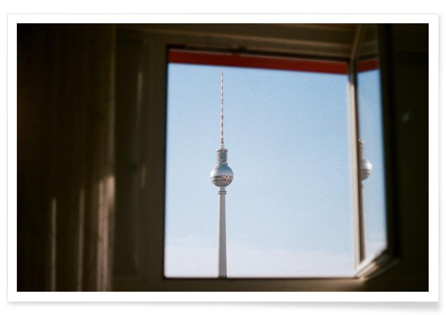 Berlin, Sehenswürdigkeiten & Wahrzeichen, Living in Berlin -Poster