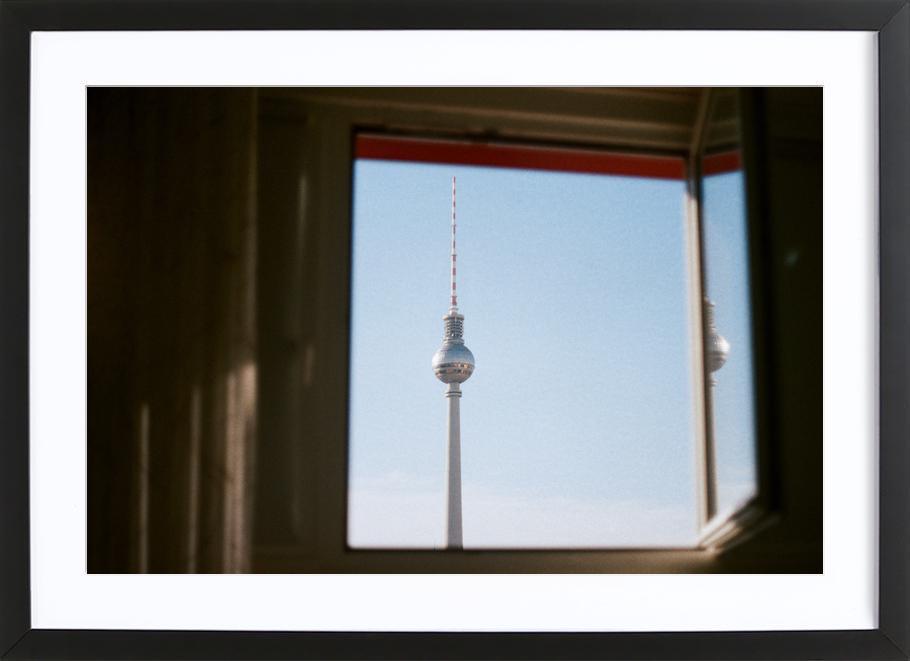 Living in Berlin Framed Print