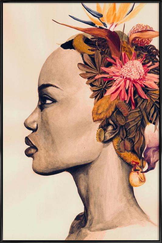 Africa ingelijste poster