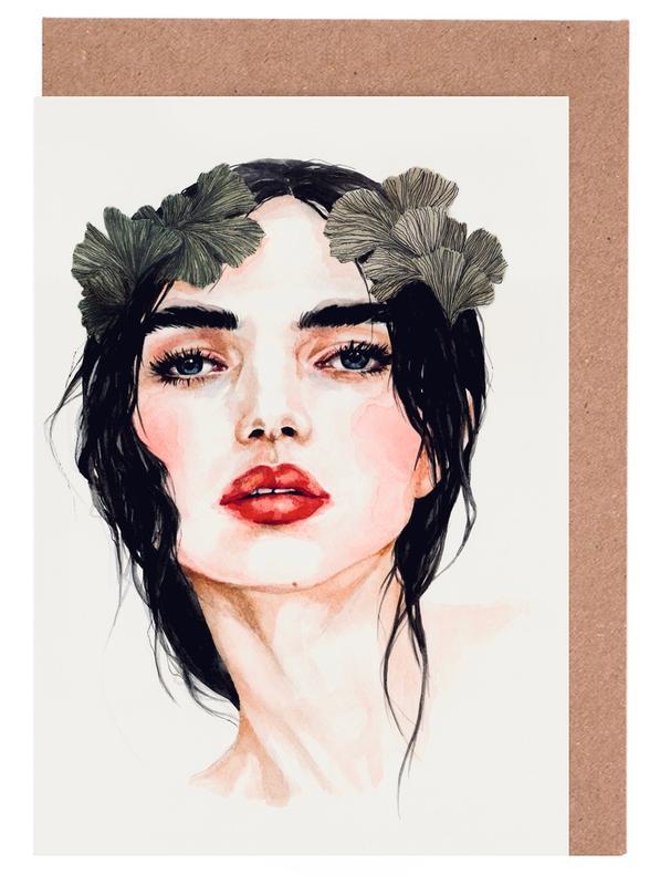 Freya -Grußkarten-Set