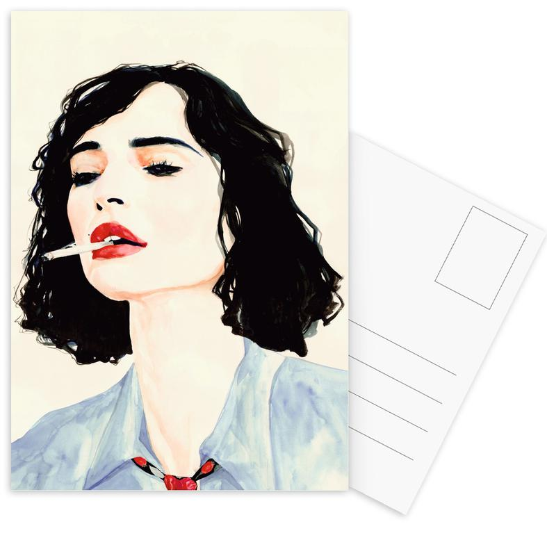 Le Rêve Français -Postkartenset