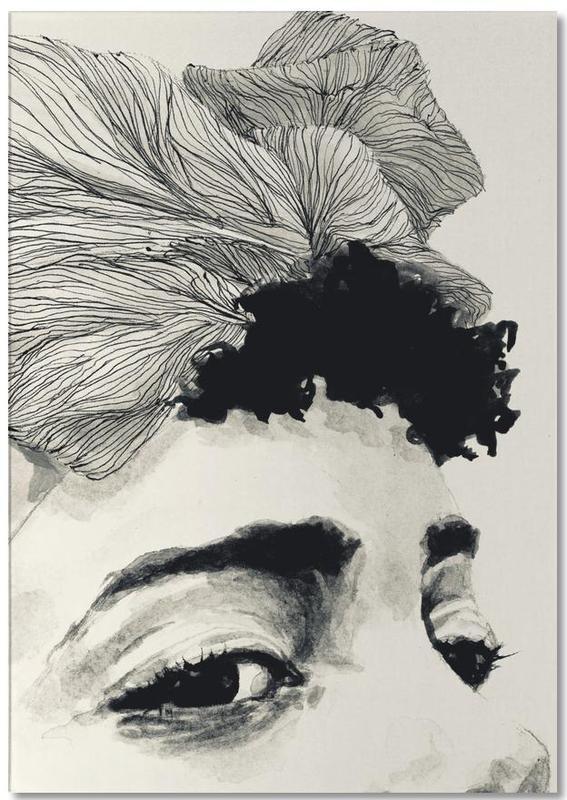 Détails corporels, Illustrations de mode, Noir & blanc, Look bloc-notes