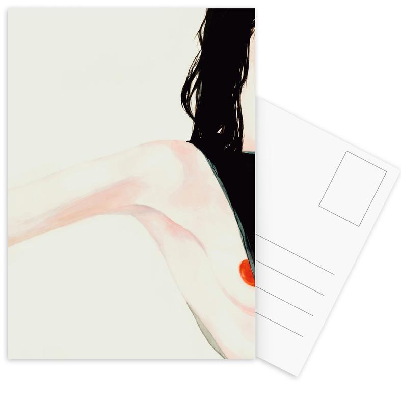 Naughty -Postkartenset