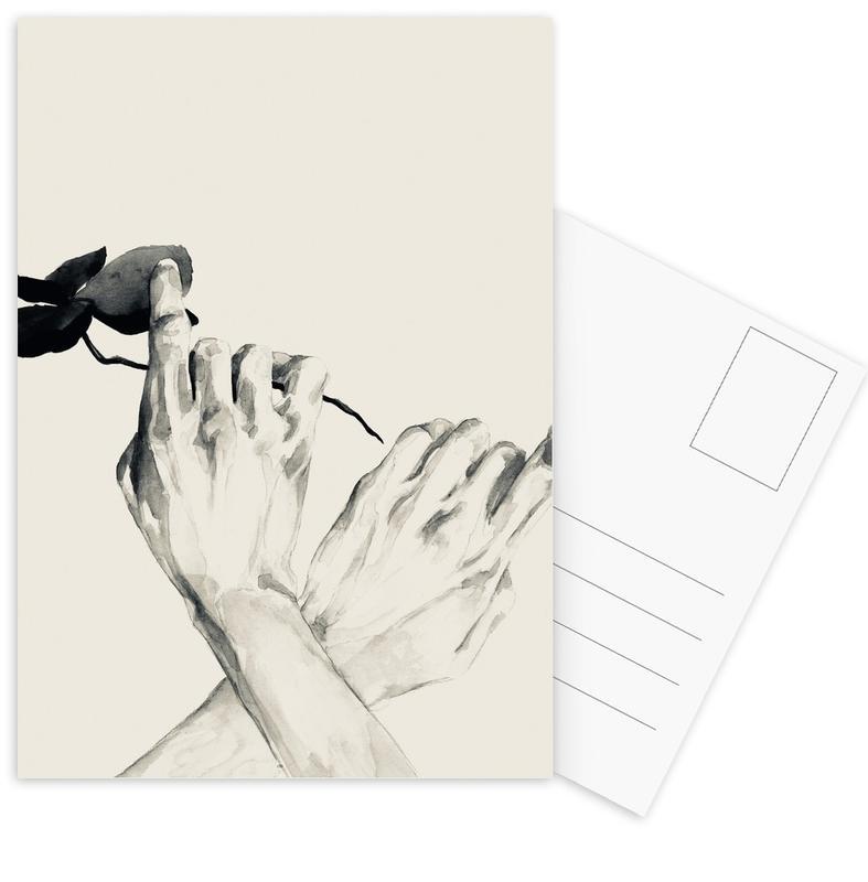 Pursuit -Postkartenset
