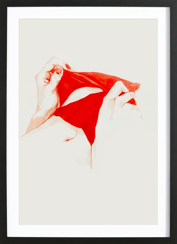 Underneath Framed Print