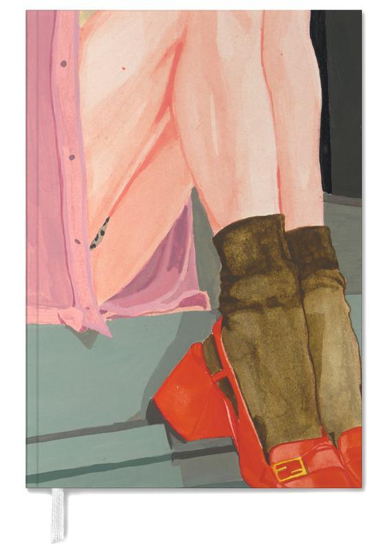 Illustrations de mode, The Waiting Girl agenda