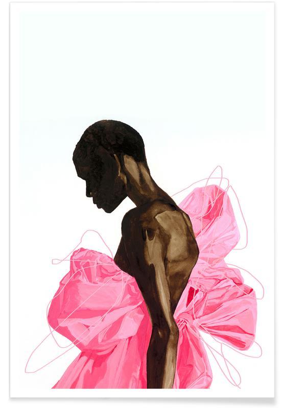 Modeillustration, Motivation, Bloom -Poster