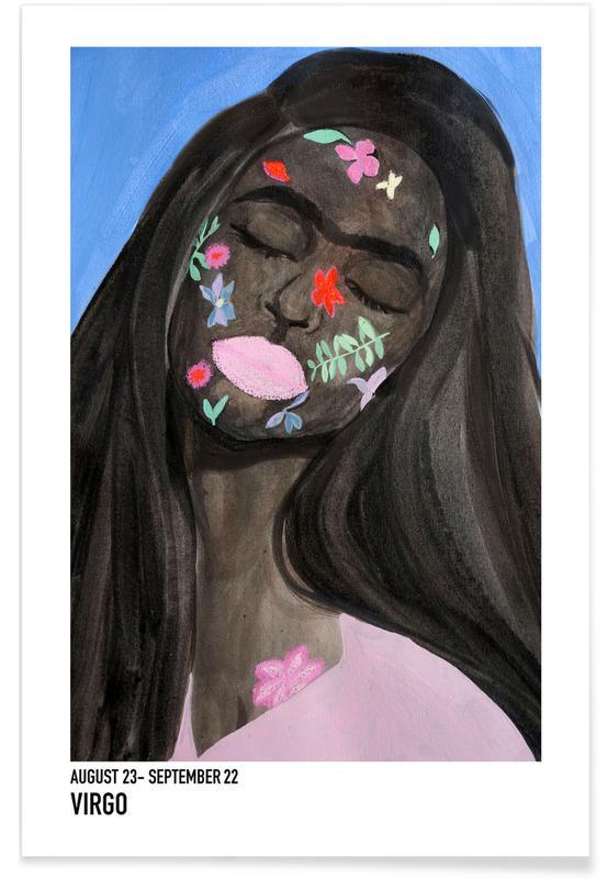 Portraits, Virgo Poster