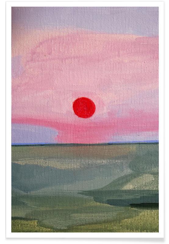 Paysages abstraits, Sole affiche