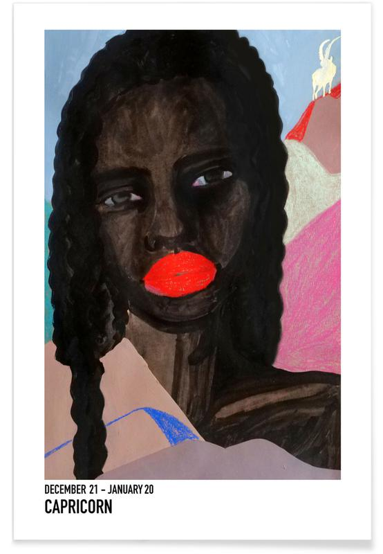 Portretten, Capricorn poster