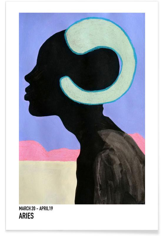 Portretten, Aries poster