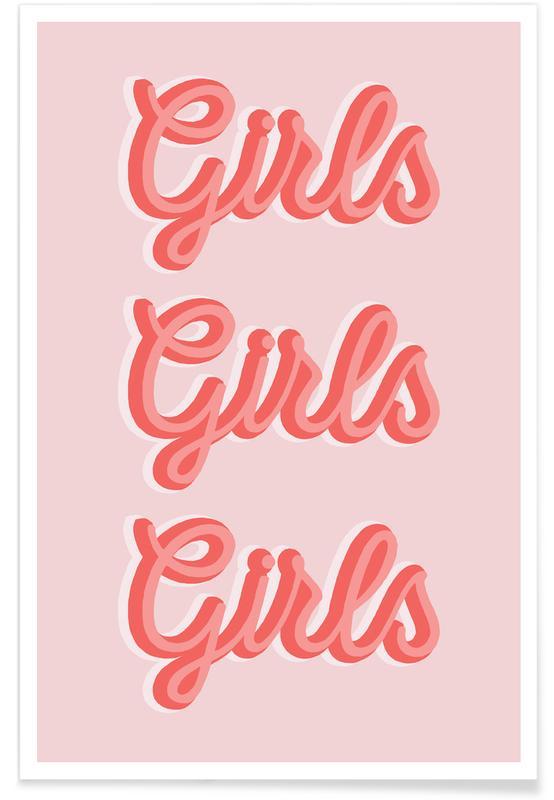 Citations et slogans, Girls Girls Girls affiche
