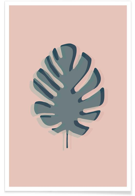 The Solitary Monstera Poster