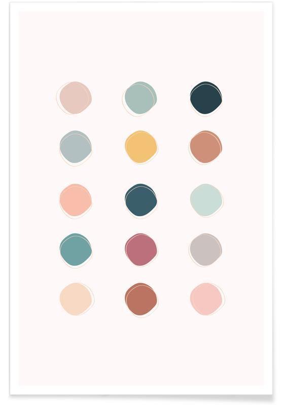 Colour Palette Poster