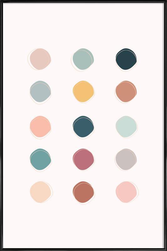 Colour Palette -Bild mit Kunststoffrahmen