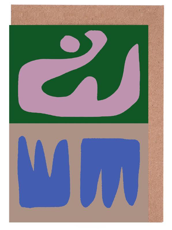 Thinking Maybes -Grußkarten-Set