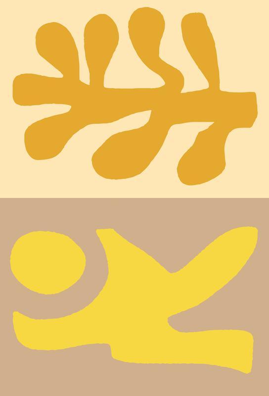 Golden Hair acrylglas print