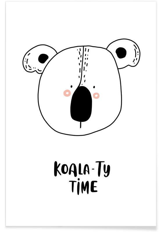 Koalas, Nursery & Art for Kids, Koala Poster