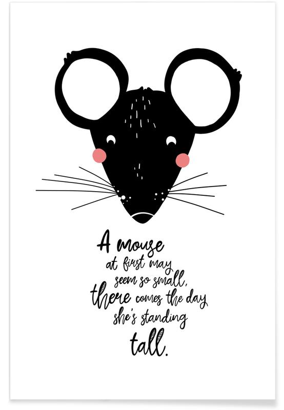 Nursery & Art for Kids, Mighty Mouse Poster