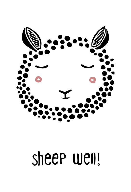 Sheep Well! acrylglas print