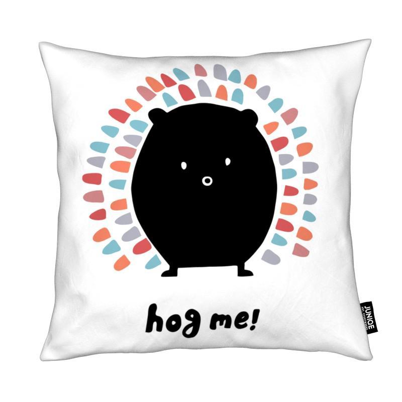 Black & White, Nursery & Art for Kids, Hog me!