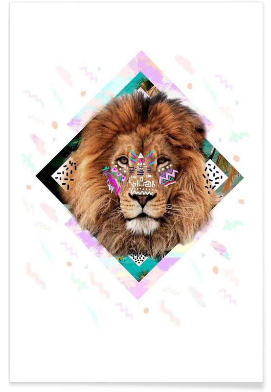Lions, Isilwane Poster