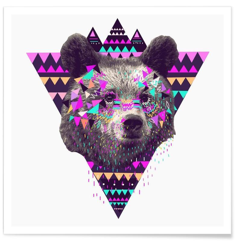 Piniata Bear Poster